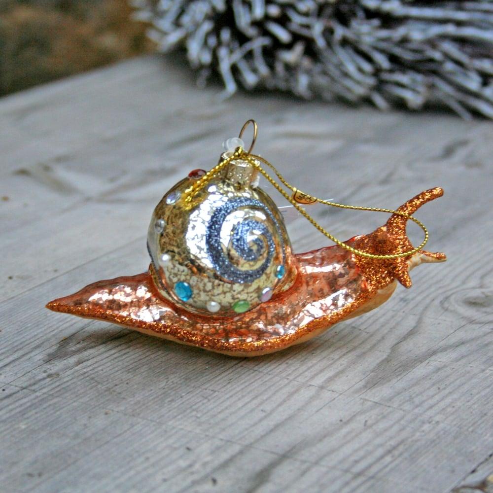 cody-foster-curiosity-snail-ornament-p5308-6741 image